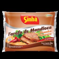 Farofa de Mandioca, Sabor Picanha com Pimenta 250 g, SINHA  MHD 03.11.2019 Sonderangebot