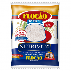Flocao de Arroz 500 g, Nutrivita MHD 18.03.2021