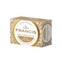 Sabonete em barra Clássico ,Rosas de Versailles 90g, FRANCIS