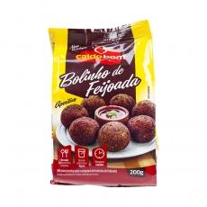 CALDO BOM Mistura pronta para Bolinho de Feijoada / Fertigmischung für Bohnenkroketten Bolinho de Feijoada 200g MHD 29.04.2021 Sonderangebot