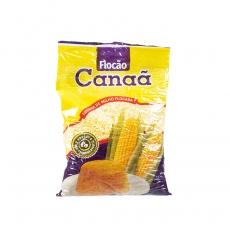 Farinha de Milho Flocão 500 g, Canaã - Produto não Transgenico - 100% Natural MHD 02.11.2021
