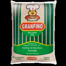 Farinha Mandioca Torrada 500 g Granfino MHD 26.07.2022