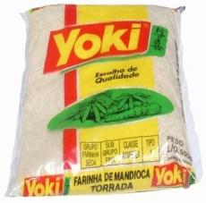 Farinha de Mandioca Torrada 500 g, YOKI MHD 21.06.2021