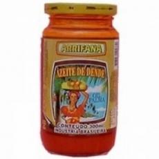 Azeite de Dende, Palmöl 300 ml Flasche Arrifana MHD 01.06.2018