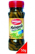 Pimenta Malagueta Verde 100 g / Abtropfgewicht 50 g  , Arrifana MHD 31.03.2019