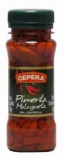 Pimenta Malagueta Vermelha 100 g / Abtropfgewicht 50 g  , CEPERA MHD 15.06.2022