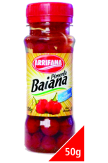 Pimenta Baiana 100 g / Abtropfgewicht 50 g,  Arrifana MHD 30.09.2023