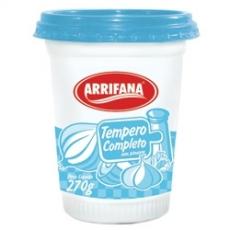 Tempero Completo Arrifana 270 g sem pimenta MHD 10.02.2021