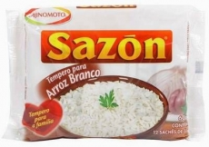 Sazon Tempero para Arroz 60 g, Ajinomoto MHD 23.02.2021