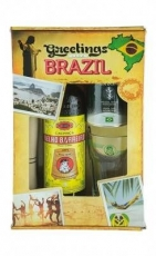 Caipirinha Set Greetings from Brazil Velho Barreiro 700 ml, 39 % vol