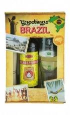 Caipirinha Set Greetings from Brazil Velho Barreiro 700 ml, 39 % vol