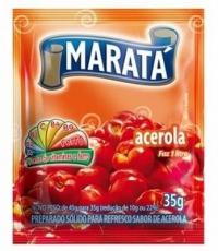 Refresco em Pó Sabor Acerola 30 g , Marata MHD 31.05.2021 ( Bild ähnlich )