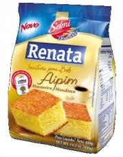 Mistura para Bolo Aipim ( Macaxeira/Mandioca) 400 g, Renata MHD 04.01.2020