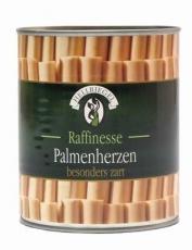 Palmherzen / Palmitos 800 g  Füllgewicht / 500 g Abtropfgewicht,  Hellriegel MHD 15.07.2021