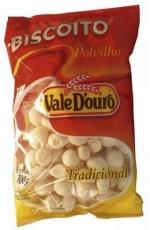 Biscoito de Polvilho, Tradicional Salgado 100 g , Vale Douro MHD 18.06.2021