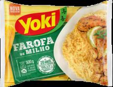 Farofa Pronta de Milho 500 g, YOKI MHD 03.05.2020