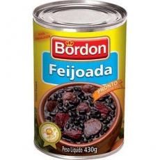 Feijoada Brasileira 430 g Bordon MHD 15.06.2020
