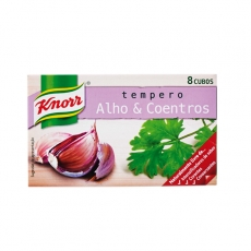 Tempero Alho & Coentros  72 g,  Knorr MHD 31.01.2021