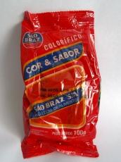 Colorifico ,, Cor & Sabor ,,  100 g, Sao Braz S.A. , MHD 10.06.2021