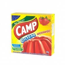 Gelatina Morango 30 g, CAMP MHD 08.04.2020