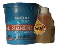 Kit Guanidina Óleo de Argan Regular 350 g ,  Salon Line MHD 30.06.2018