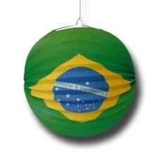 Brasilianischer Partylampion, Durchmesser 24 cm