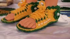 Babyschuhe / Sapato para Bebê