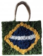 Tasche mit Henkel  ,,Brasil,, 34 cm x 38 cm