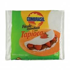 Fecula de Mandioca para Tapioca 500 g, COMBRASIL MHD 15.02.2021 ( Nao Hidratada)