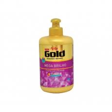 Creme para Pentear , Mega Brilho, 280 g, Niely Gold  MHd 30.06.2021 Sonderangebot