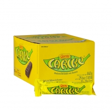 Caribe,  Bananen-Schokoladenriegel 28 g, Garoto MHD 31.10.2019