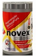Creme Tratamento Ultraprofundo ,,Regeneração BellezaPura 12 em 1 , 1 kg , Novex MHD 05.03.2019