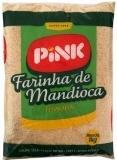 Farinha de Mandioca Torrada 1000 g, PINK MHD 29.01.2020