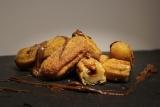,,Mini Churros,, Nuss-Nougat Creme 500 g ( Já Fritas para o Forno)