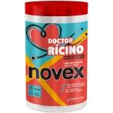 Creme Máscara Capillar ,Doctor Rícino 1kg, Novex MHD 03.11.2022