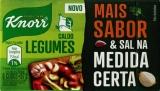 Caldo de Legumes 57 g, 6 cubos, Knorr MHD 31.05.2021