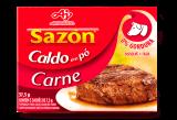 Caldo em Po Carne  37,5 g, 5 Saches de 7,5g , Ajinomoto MHD 30.03.2022