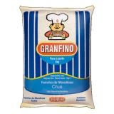 Farinha de Mandioca Crua 1000 g Granfino MHD 29.03.2019