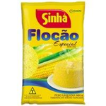 Farinha de Milho Flocada / Flocao Especial Sem Sal 500 g, Sinha  MHD 09.03.2018