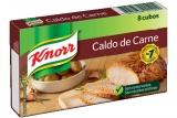 Caldo de Carne 80 g Knorr MHD 28.01.2020