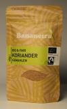 Koriander / Coentro gemahlen BIO&FAIRTRADE 40 g, Bananeira MHD 30.07.2018