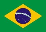 Brasilien-Aufkleber / Adesivo 8,4 x 5,4 cm