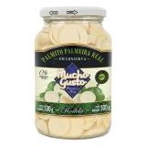 Palmito Palmeira Real Rodela, 530 g Füllgewicht  / 300 g Abtropfgewicht , Mucho Gusto MHD 01.03.2020