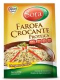 Farofa Crocante Proteica ,Tempero Caseiro, 300 g, Sora MHD 29.04.2018