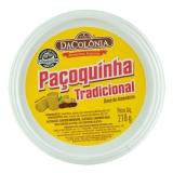 Paçoca Rolha Tradicional 210 g , DACOLONIA MHD 31.08.2020