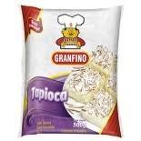 Tapioca de Mandioca Granulada 500 g , Granfino MHD 23.06.2020 (NAO PARA FRIGIDEIRA!!!!!!!!)