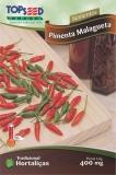 Sementes de Pimenta Malagueta ,,Tradicional Hortalicas ,, 400 mg , TOPSEED MHD 31.12.2019
