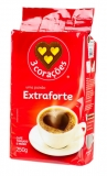 Cafe 3 Coracoes ,Extra Forte, 250 g,  MHD 15.11.2019