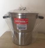 Cuscuzeiro de Aluminio Polido No 16, 1,5 LT   JAYSAN